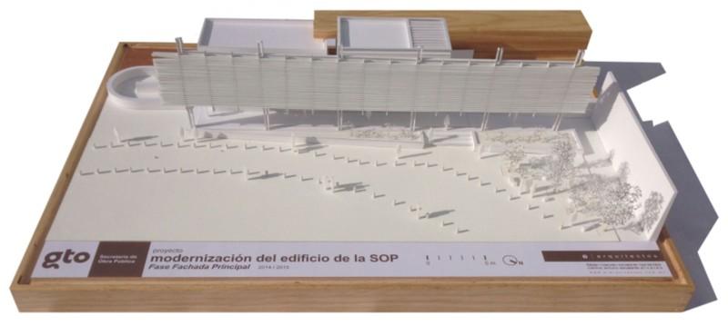 E arquitectos -Modernizacion de Edificio de la Secretaría de Obra Pública (S.O.P.) / GTO