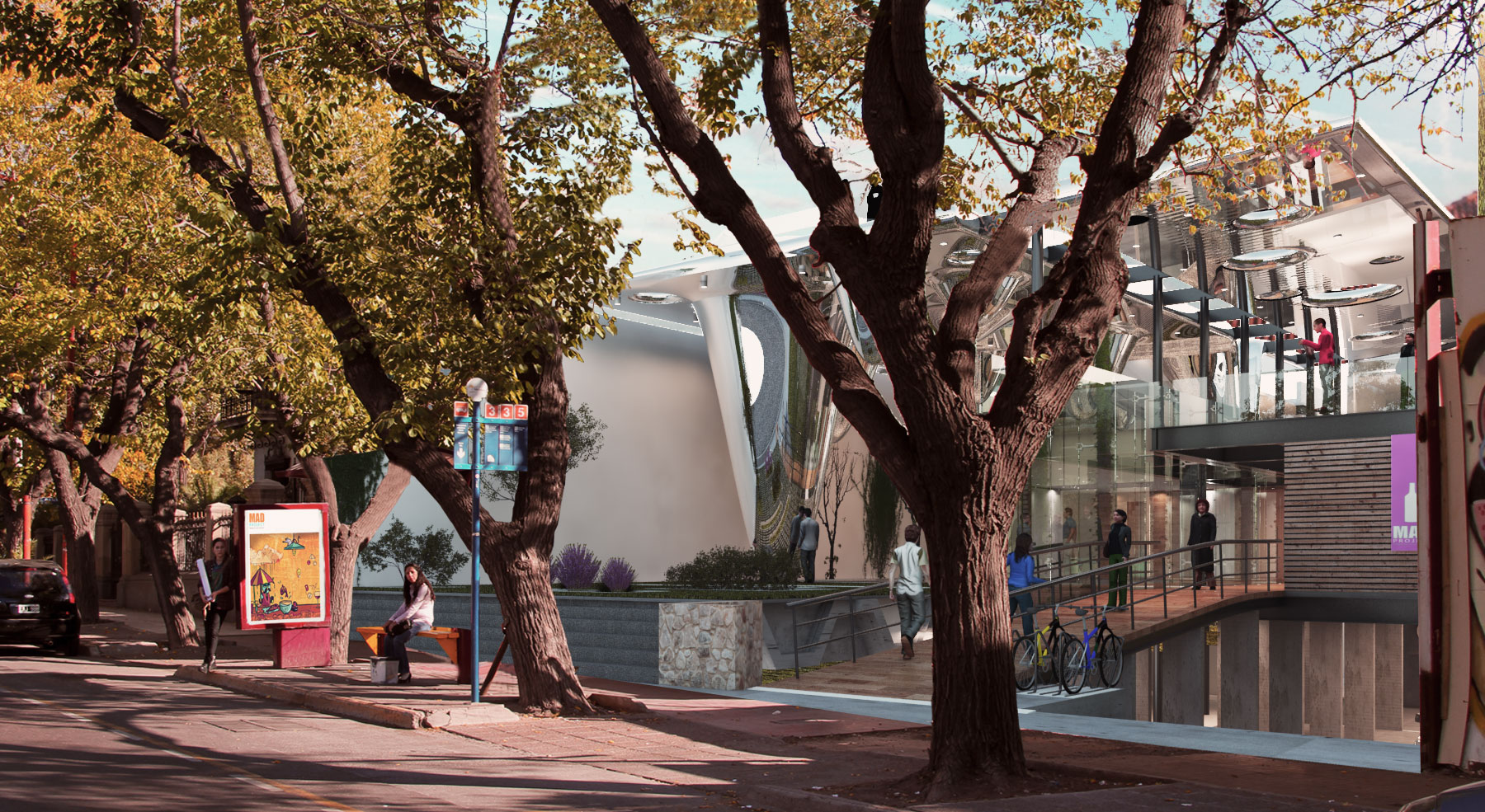 E arquitectos -MAD Mendoza Art District / Finalistas de concurso
